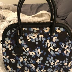 Floral Kate Spade purse with matching wallet